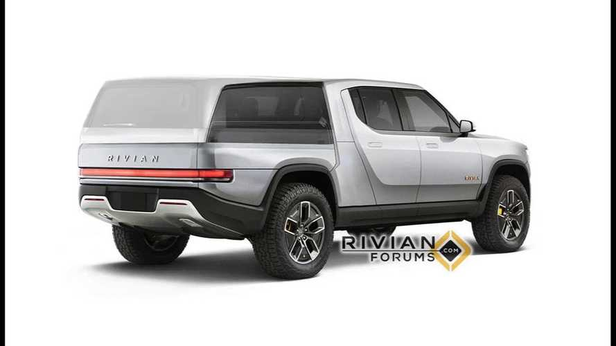 Watch Rivian R1T Electric Pickup Truck Transform Right Before Your Eyes