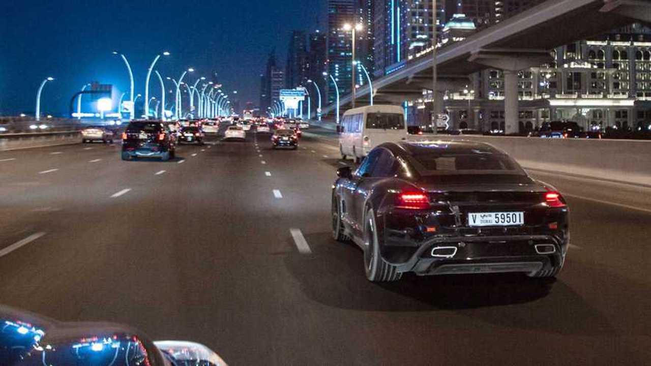 Porsche Taycan EV Enters Final Testing Before Big Reveal