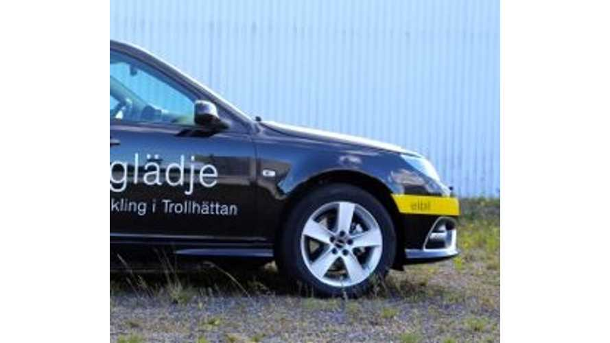 SAAB Presents 9-3 EV Prototype