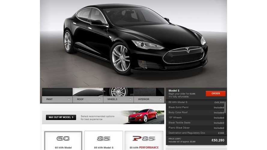 Tesla Undecided On Whether Or Not To Guaranteed Residual Value On Model S Outside Of U.S.