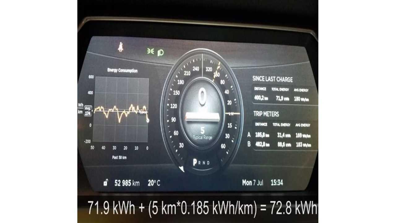 Tesla Model S P85 Battery Degradation After 33,000 Miles - Video