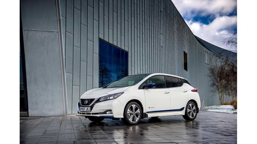 Nissan LEAF Sales In Europe Exceed 4,500 In September 2018
