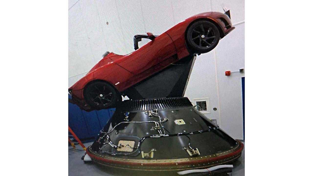 Elon Musk's Tesla Roadster Set To Enter Space On February 6