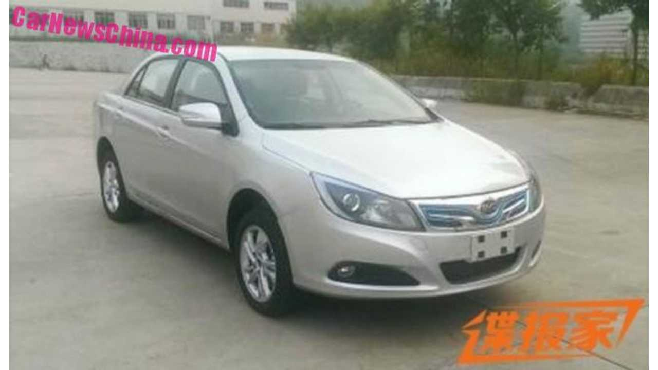 Spied: BYD e5 Electric Car With 124-Mile Range