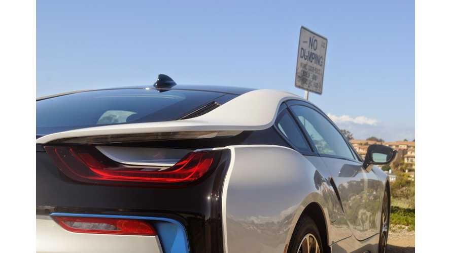 BMW i8 Real-World Range Test