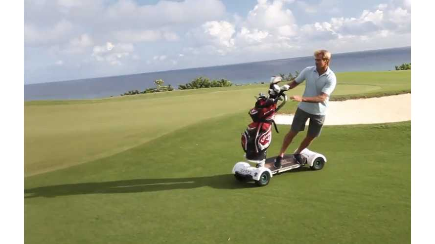 Golfboard Wins PGA Best New Product 2014, Not a Silly Scooter (video)
