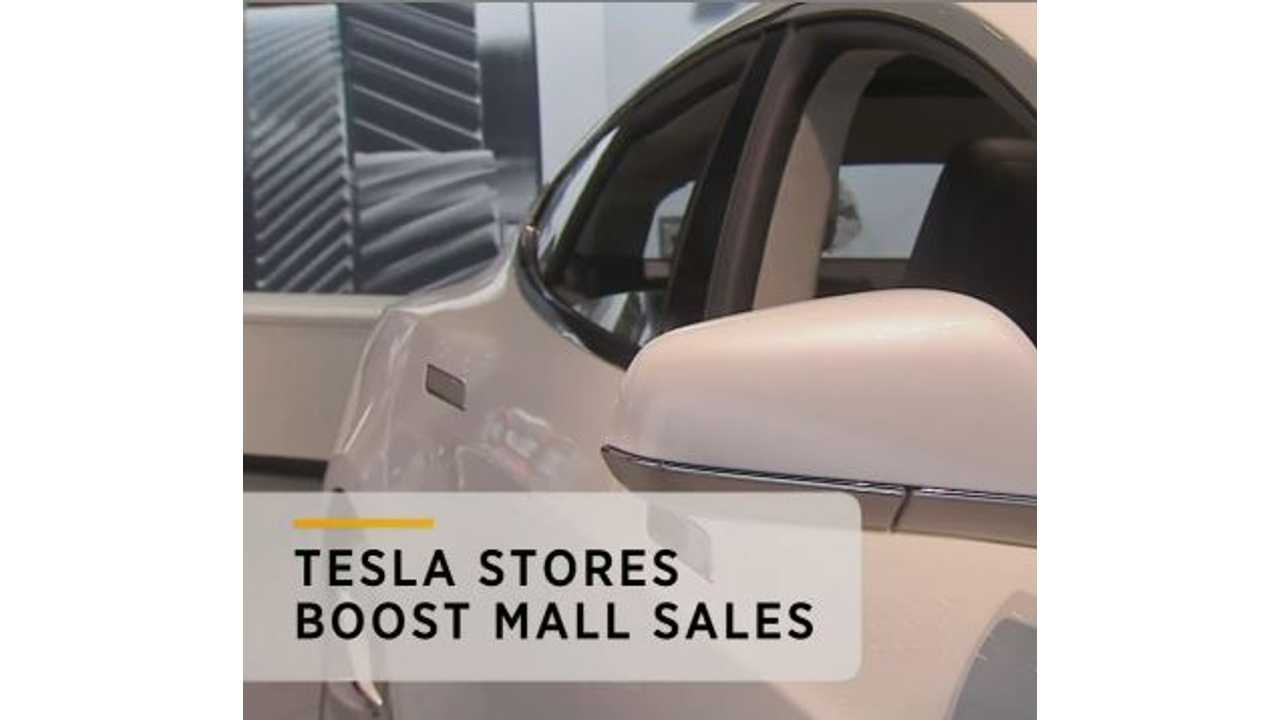 Withering Malls To Be Saved By Tesla?