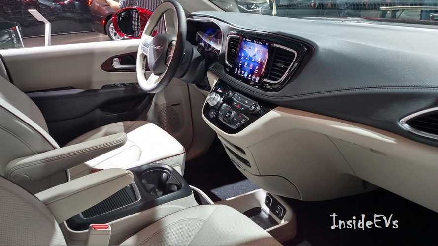 Cars Takes Chrysler Pacifica Hybrid Plug In For A Spin Insideevs Photos