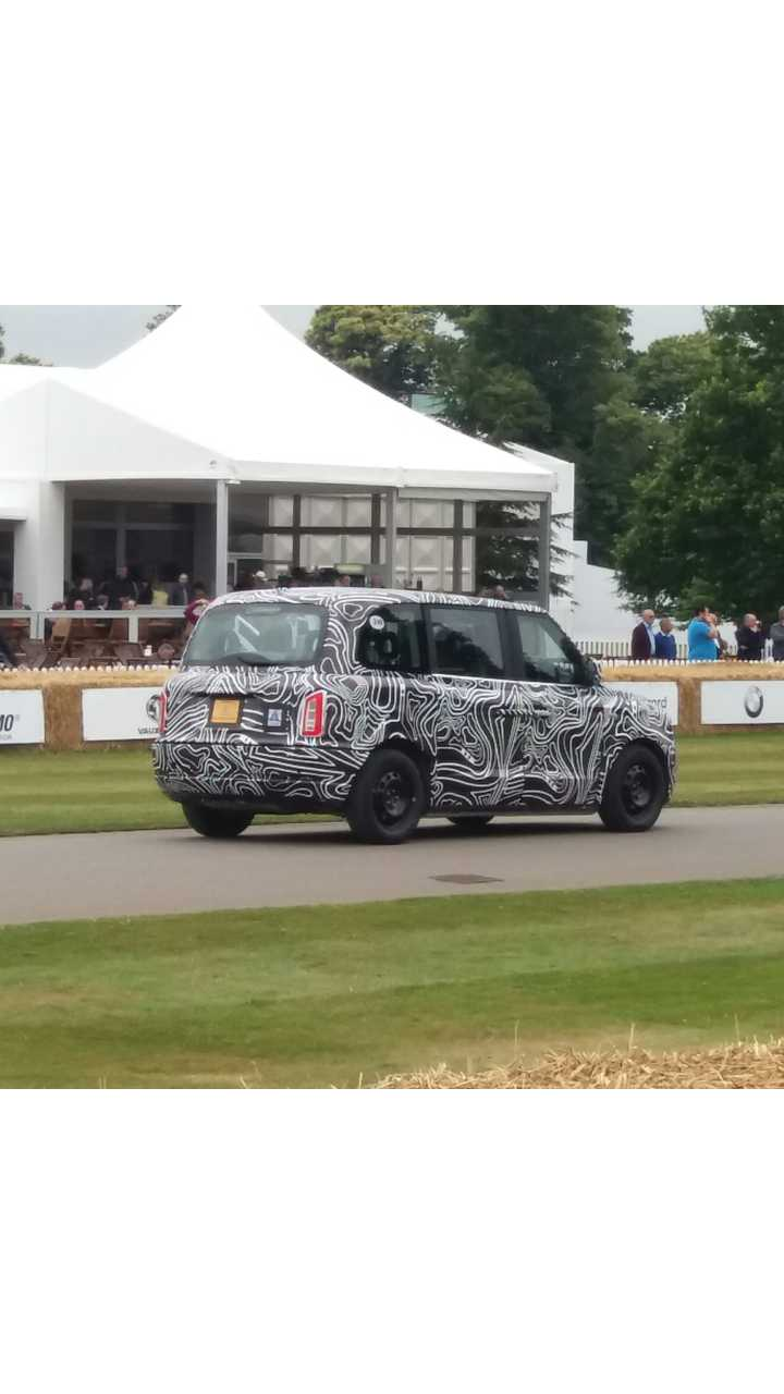 London Taxi Company - electric taxi prototype at 2017 Goodwood Festival of Speed
