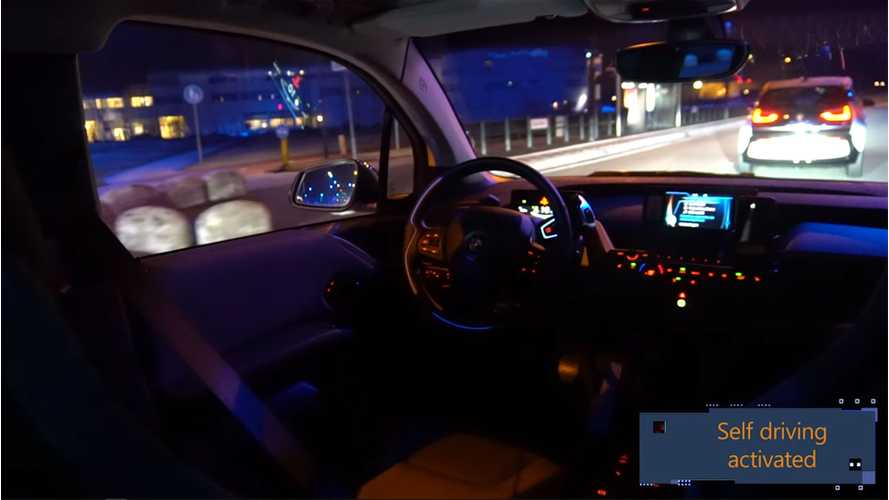 Watch These BMW i3s Self-Drive In Netherlands