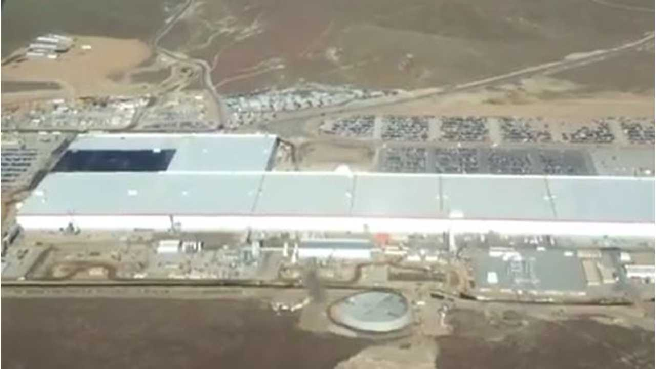 Tesla Gigafactory Video Flyby Shows Recent Additions