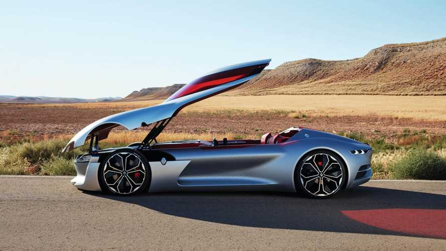 Sexy Renault Trezor Voted Most Beautiful Concept In Villa D'este