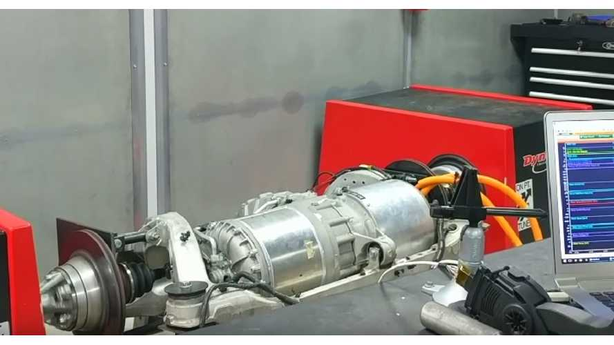 "Tesla's Electric Motor Hits The Dyno As Part Of ""Blue Lightning"" Lotus Conversion - Video"