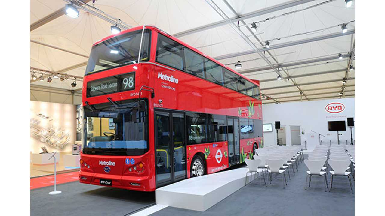 BYD Electric Double Decker