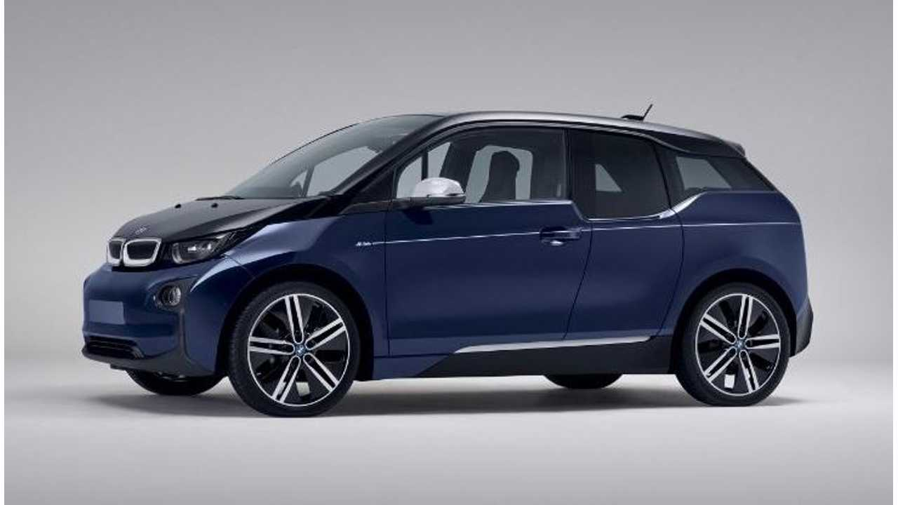 Check Out This Limited Edition Blue BMW i3 - Mr. Porter