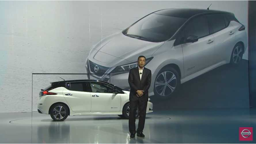 Watch Nissan's Live LEAF Debut In Tokyo Now - video