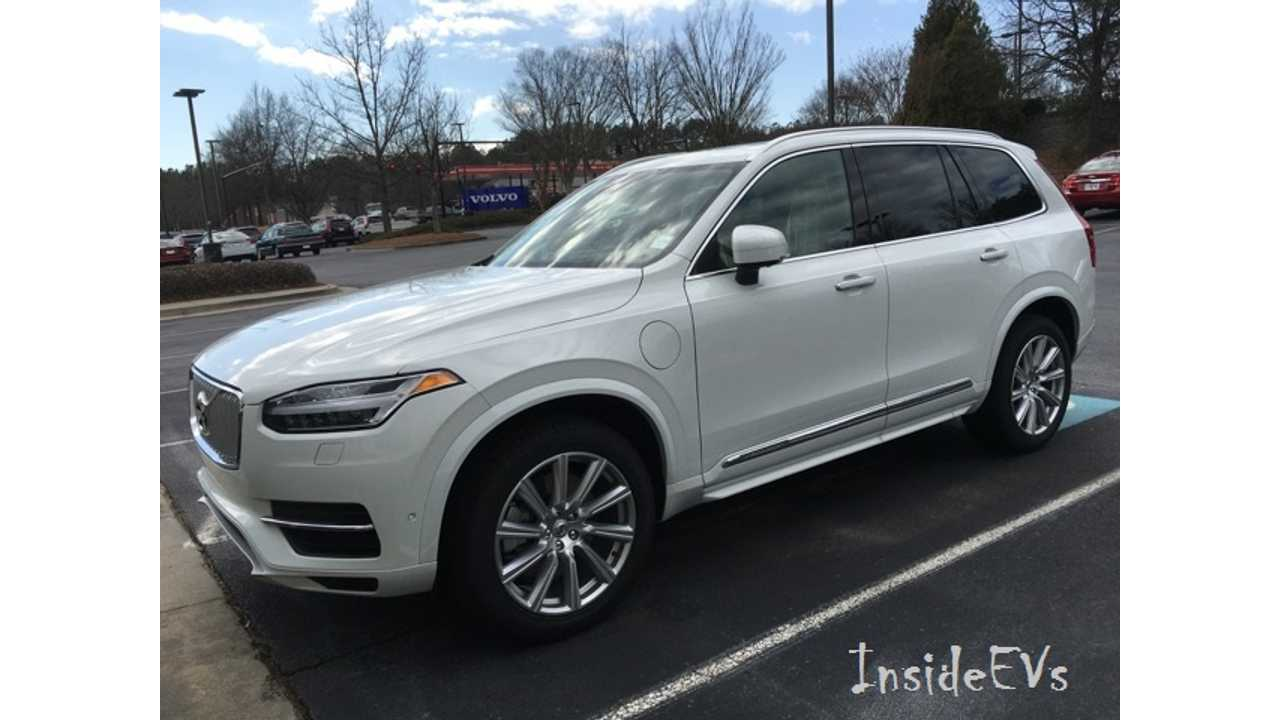 Volvo Xc90 T8 Plug In Hybrid Now Comes With 3 Row Seating