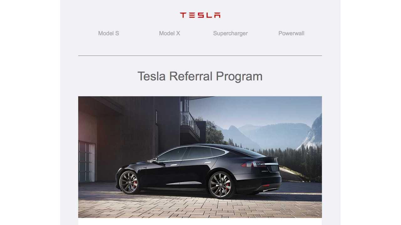 Tesla Launches New Referral Program