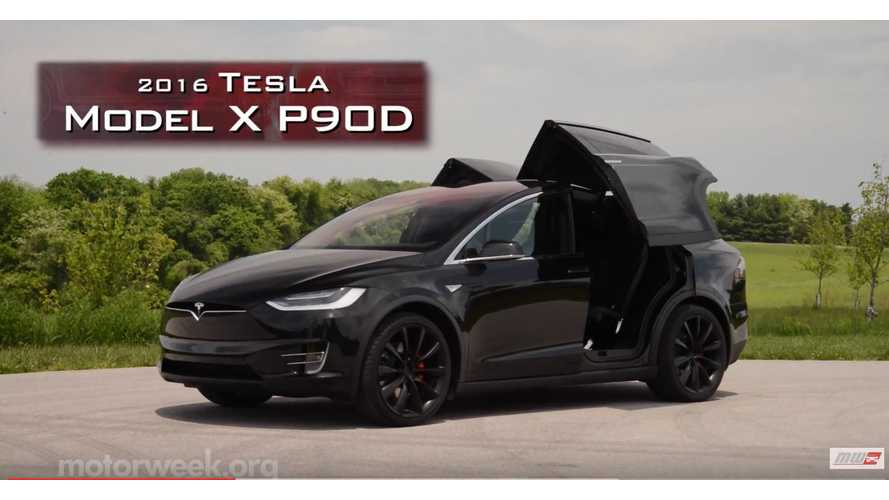 MotorWeek Presents Tesla Model X First Look - Video