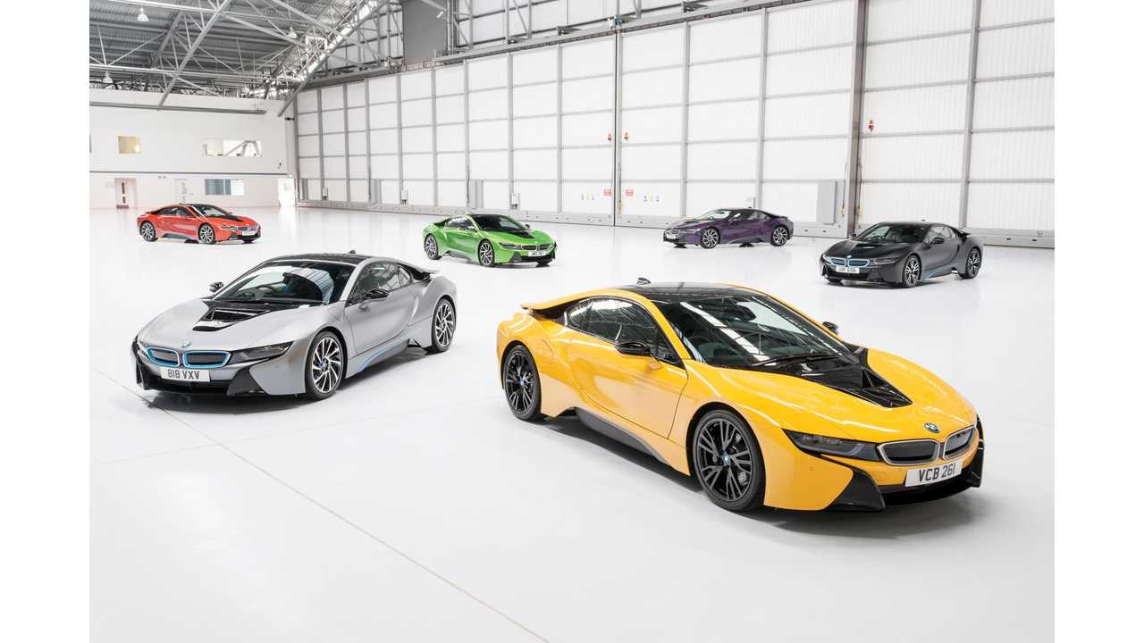 BMW UK Offers Individual Exterior Paint Programme For The i8