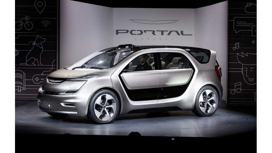 Chrysler Portal Is The Adaptable, Electric Minivan That's Seen As