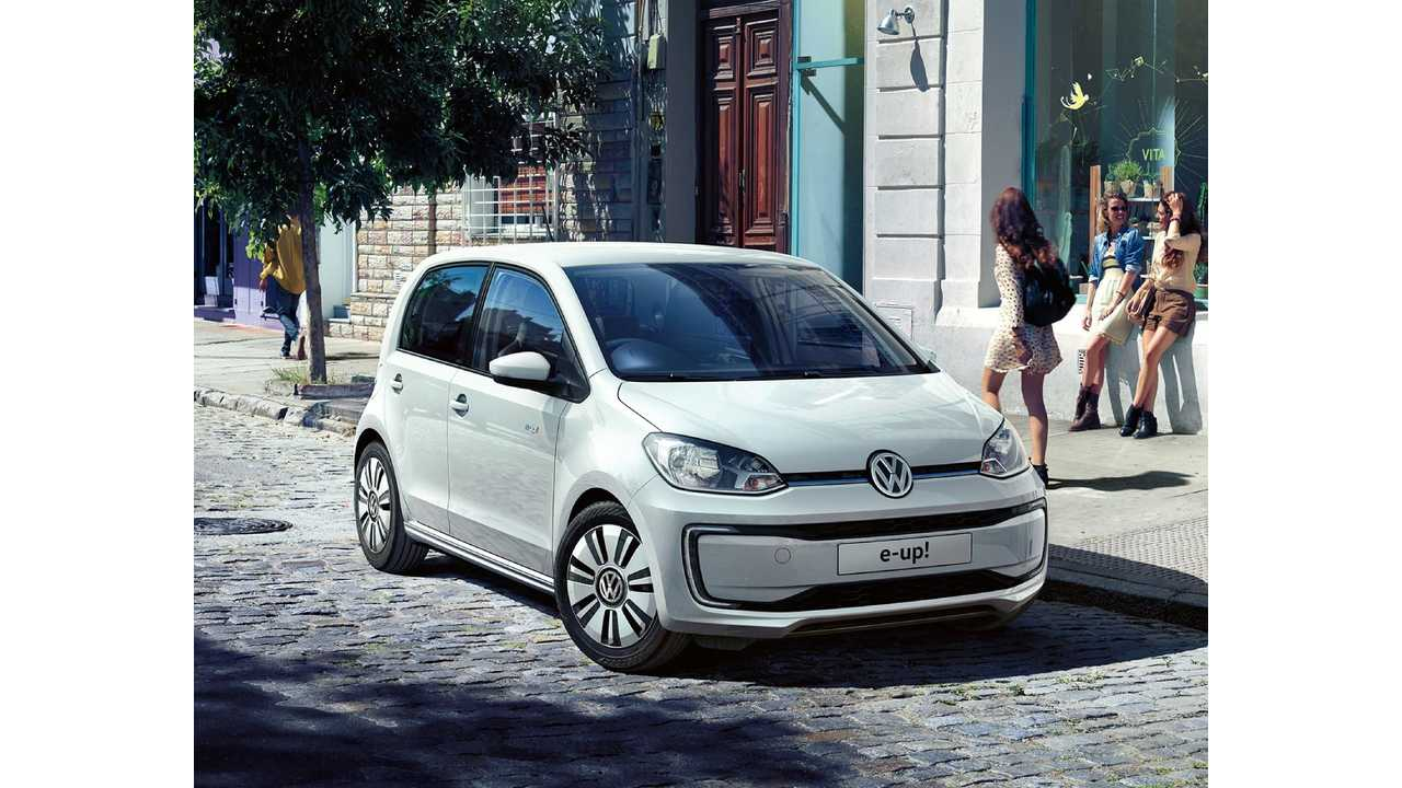 Refreshed Volkswagen e-Up! Launches