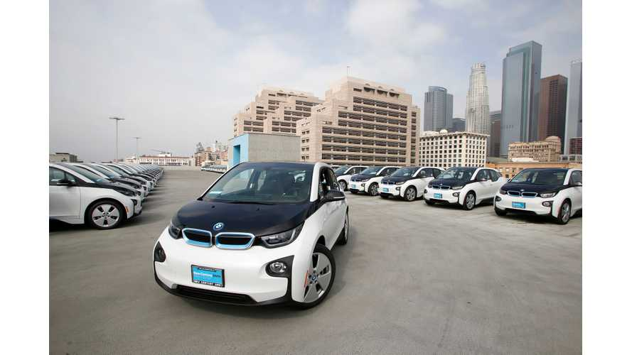 LAPD Orders 100 BMW i3 BEVs