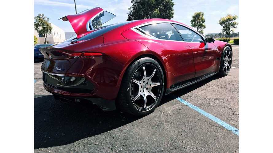 See Fisker EMotion Driven In Public - Videos