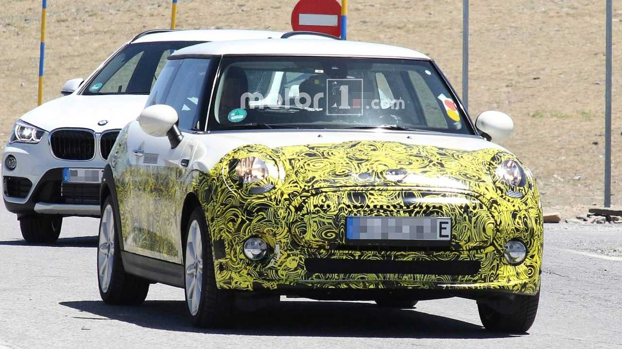 Electric Mini Spied On The Road, Showing Off Revised Cabin
