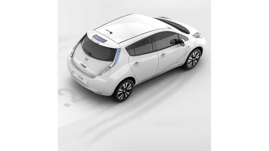 Nissan LEAF Now Gets Free Public Charging On All The Major Networks (Update)