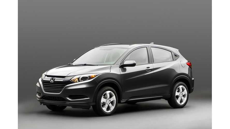 2015 Honda HR-V - An Ideal Platform For Honda's Next Electric Vehicle?