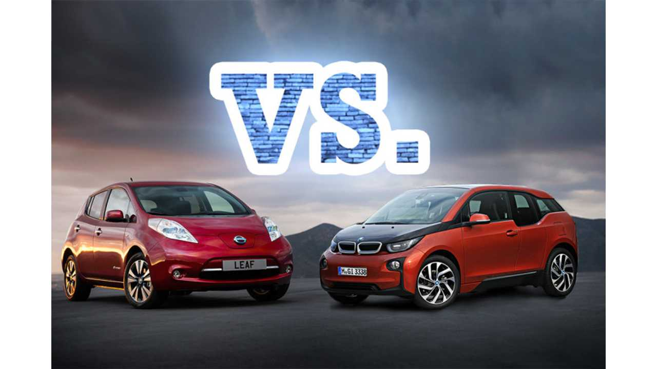 BMW i3 Versus Nissan LEAF