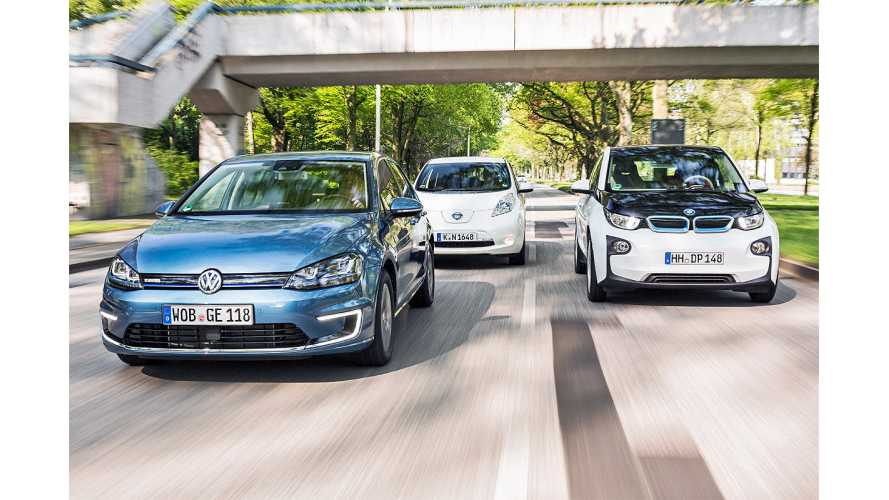 AutoExpress Pits BMW i3 Against Volkswagen e-Golf