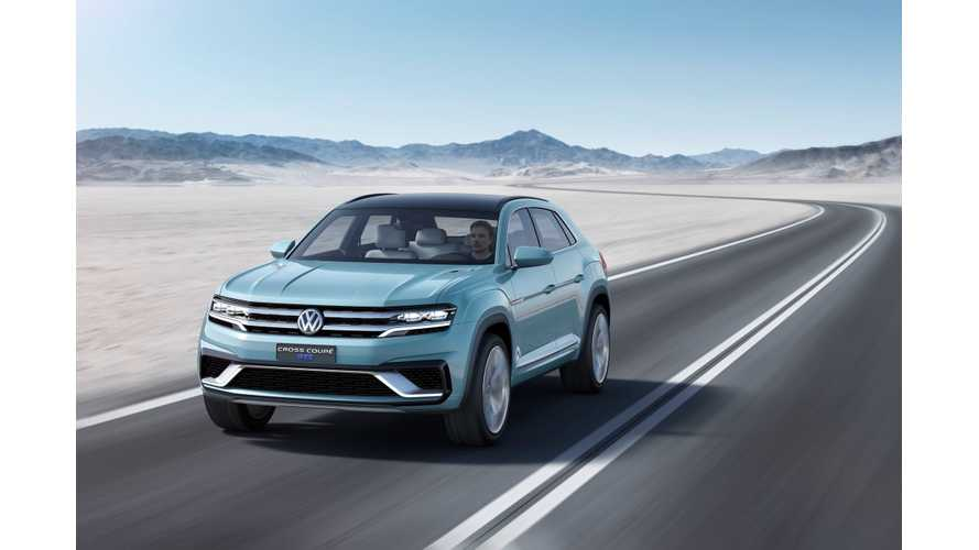 Volkswagen Cross Coupe GTE Plug-In Hybrid Makes World Debut At 2015 NAIAS
