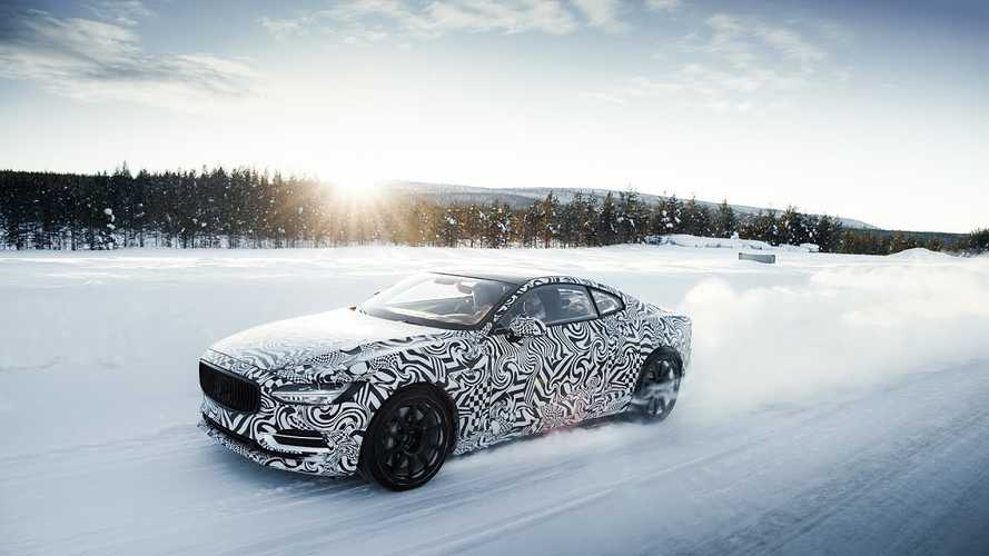 Watch Polestar 1 Plug-In Hybrid Conduct Extreme Winter Testing