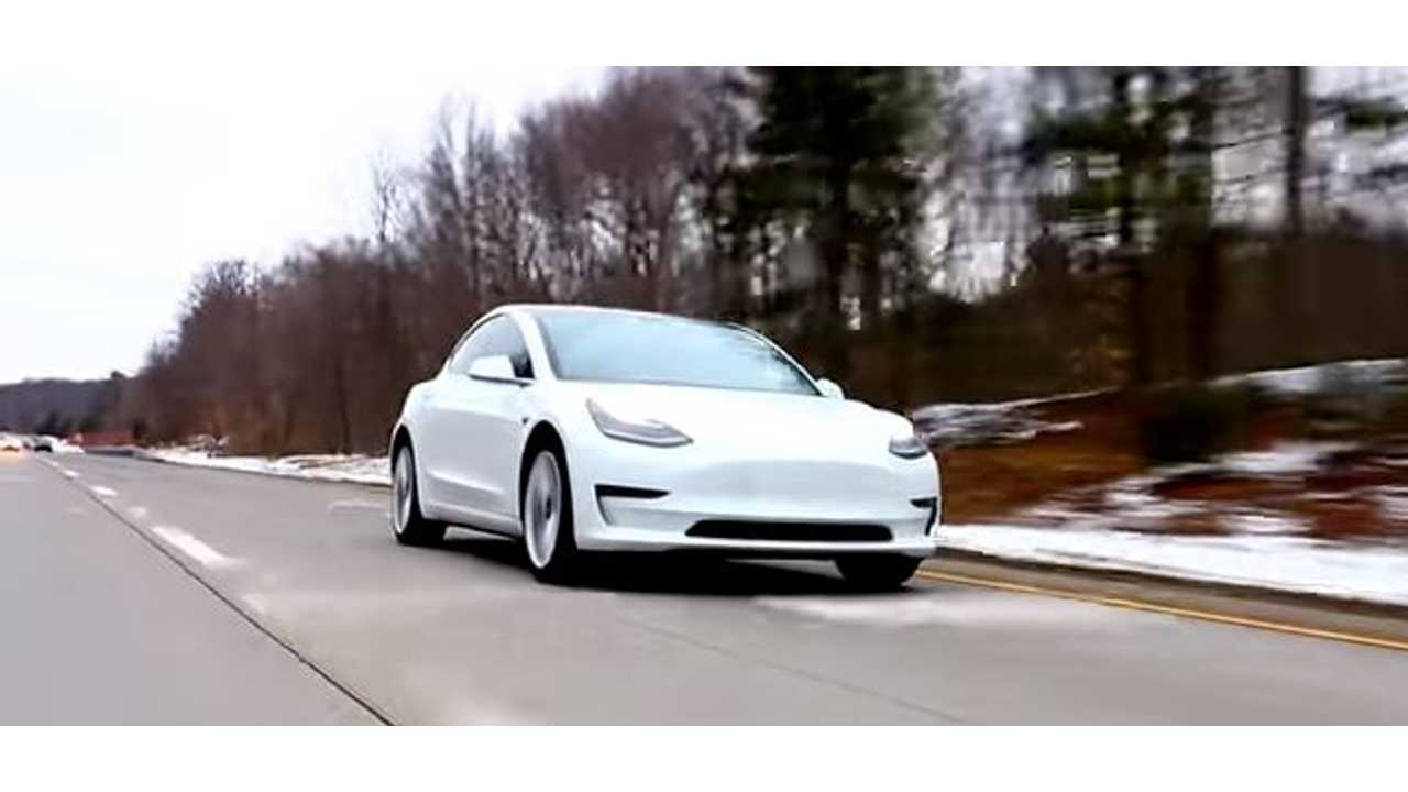 Check Out This Extended Tesla Model 3 Test Drive