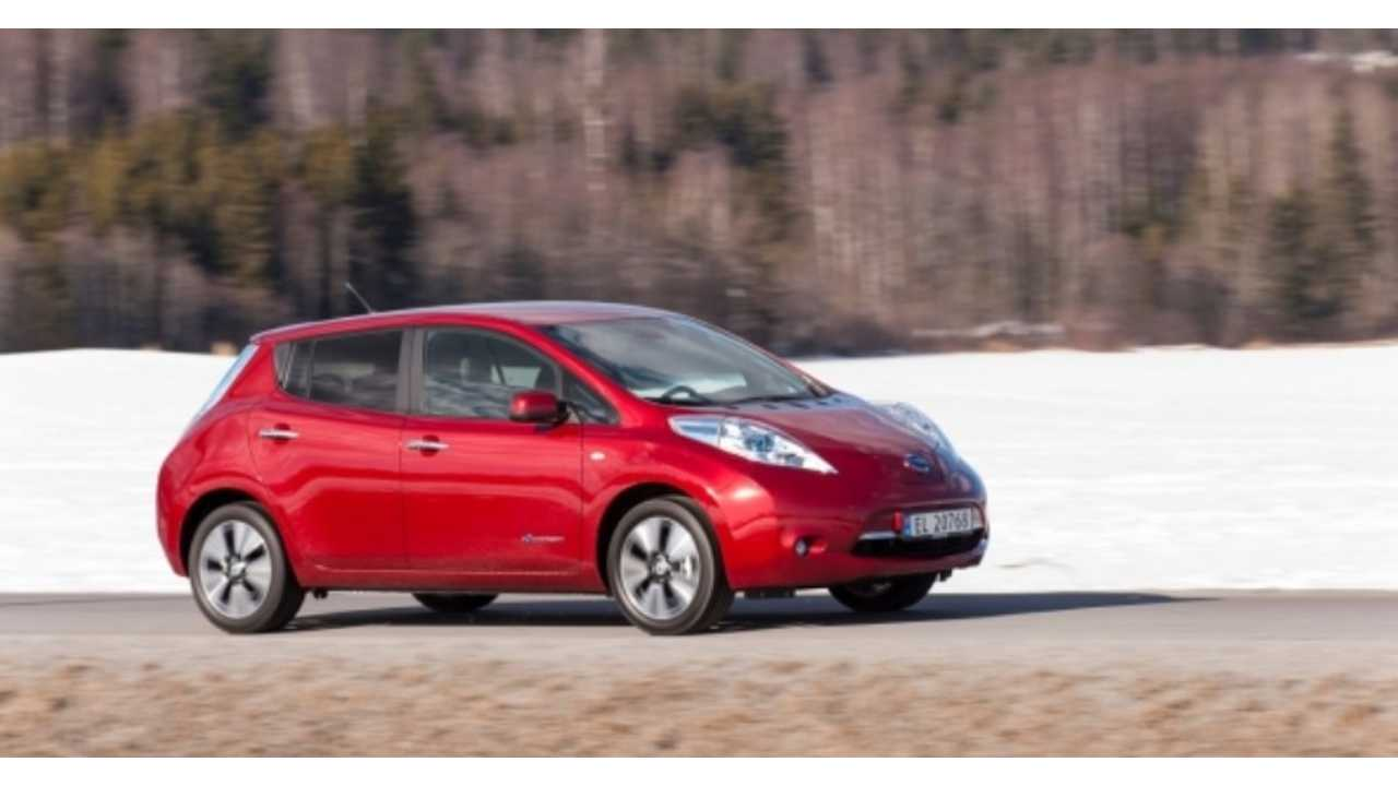 Nissan LEAF Sales Hit All-Time High In Canada