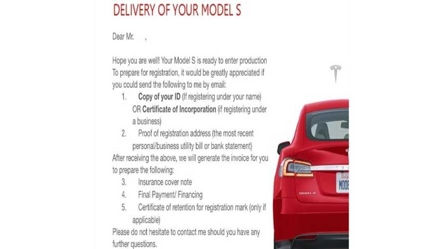 Tesla Model S RHD 70D, 85D and P85D are entering production