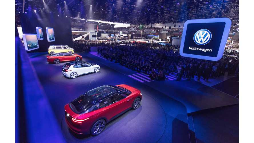 Volkswagen Battery Order To Nearly Match Tesla's Entire Market Value