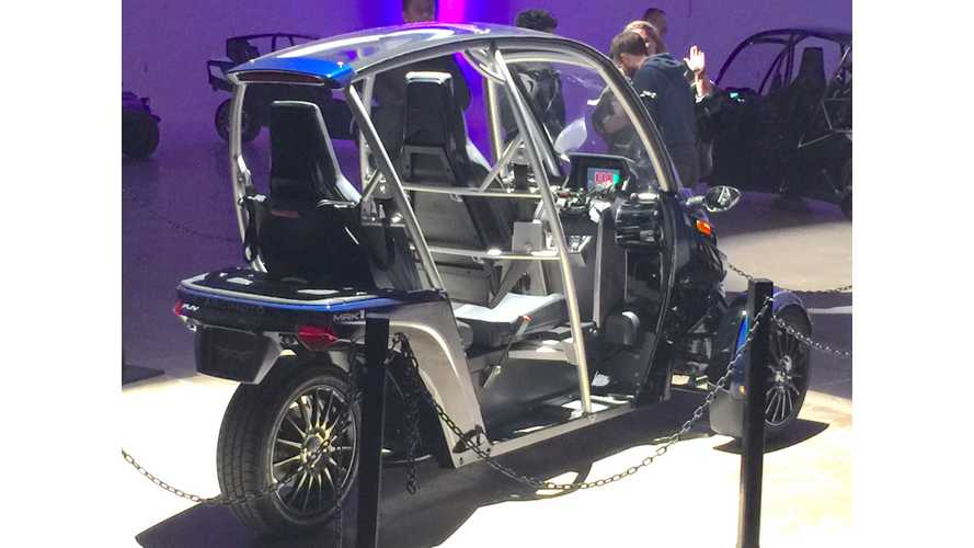 We Check Out The Arcimoto Electric 3-Wheeler