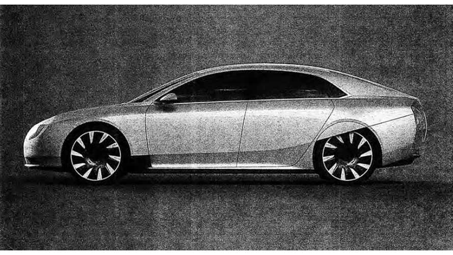 Atieva Atvus Electric Sedan Leaks Out