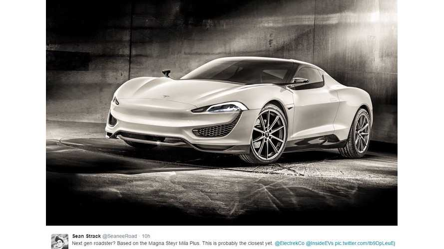 Next-Gen Tesla Roadster Rendered