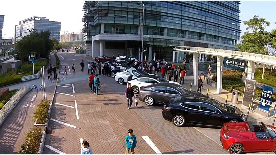 Tesla Motors Club Hong Kong Rally - Video