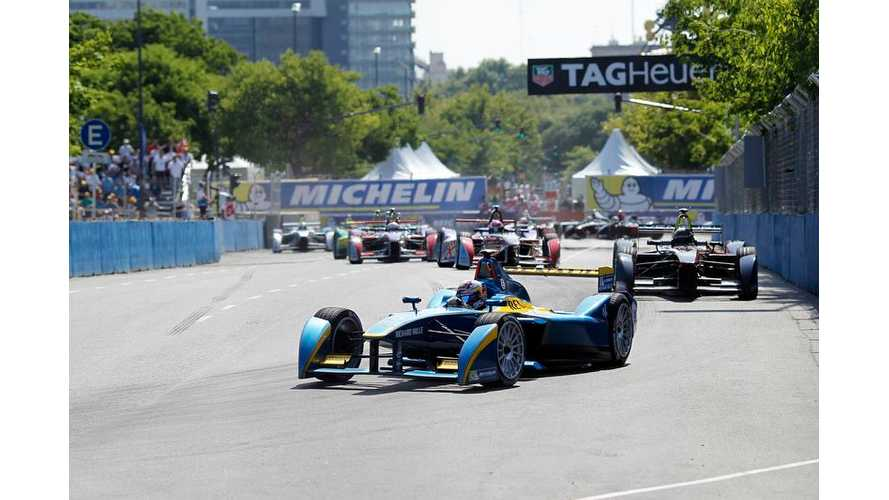 Watch Formula E Racing From Cockpit View - Video