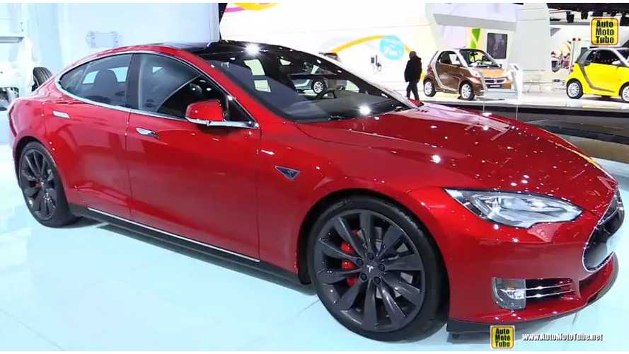 2015 Tesla Model S P85D - Walkaround Video From 2015 NAIAS