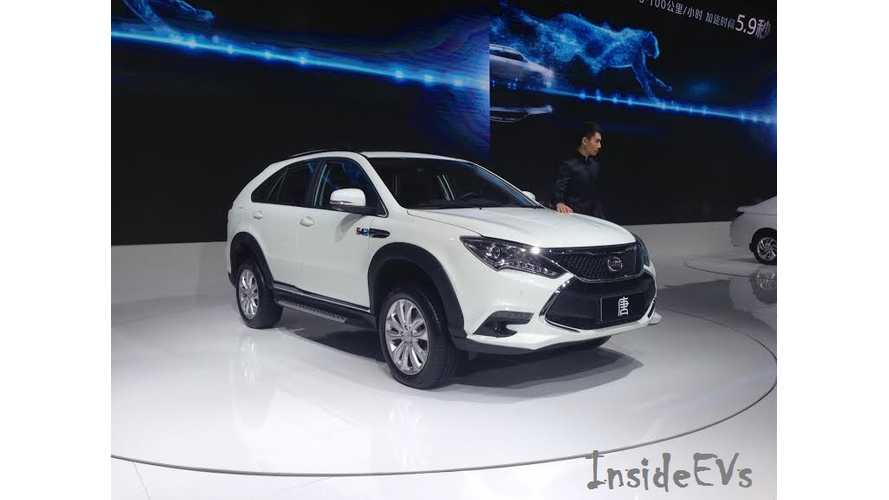 BYD Tang Sales Expected To Outpace Qin