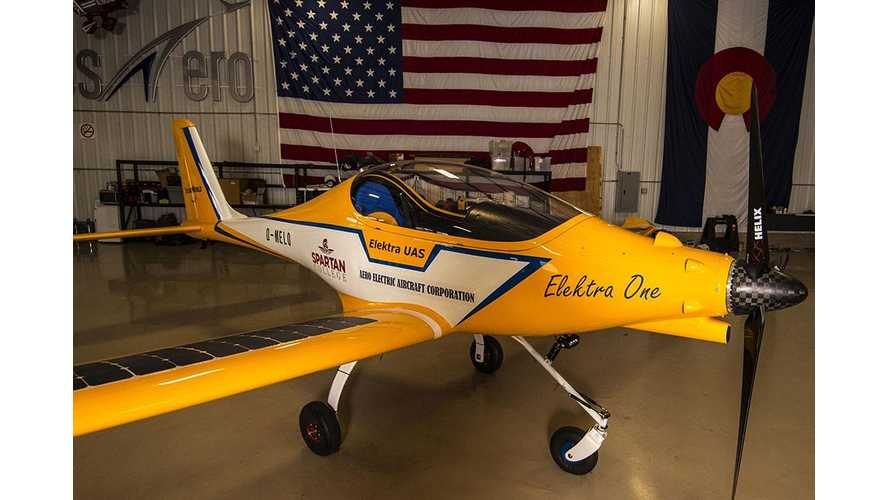 Spartan College of Aeronautics and Technology Orders 20 Sun Flyers