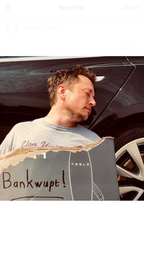 Tesla Files For All Chapters Of Bankruptcy