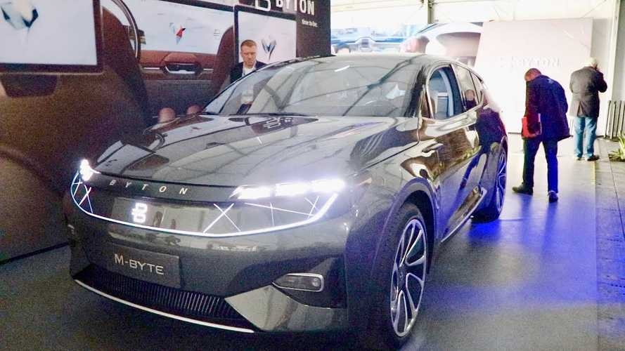 Byton M-Byte Electric SUV: The EV Dark Horse: Video