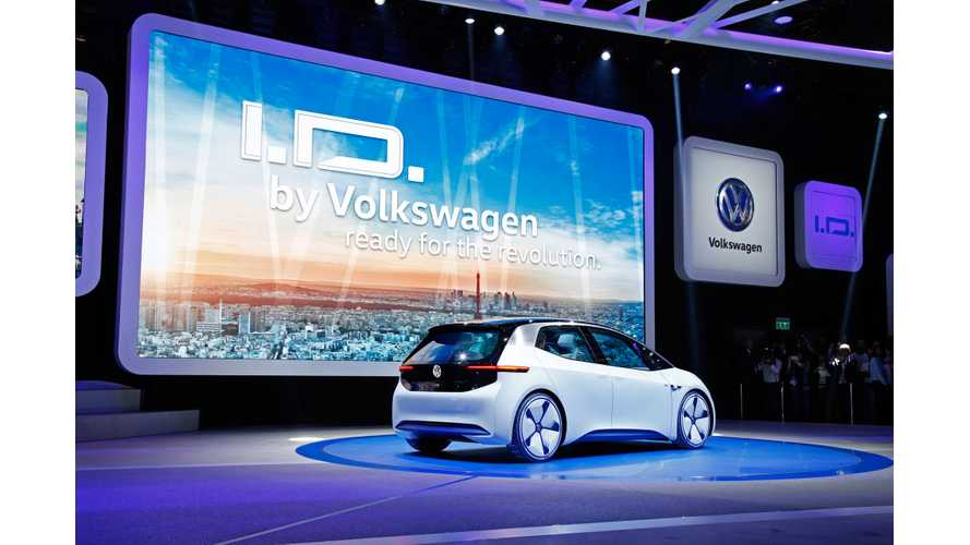 UPDATE: VW CEO Says Automaker Will Make Electric Cars Mainstream